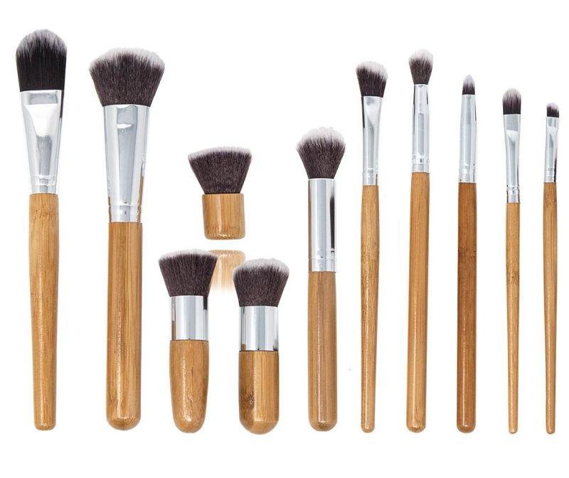 Set 11 kistova za šminkanje i navlaka Bamboo Eco