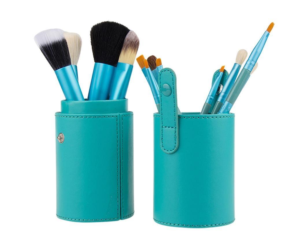 Makeup Lover Turquoise 12 db Sminkecset tartóval