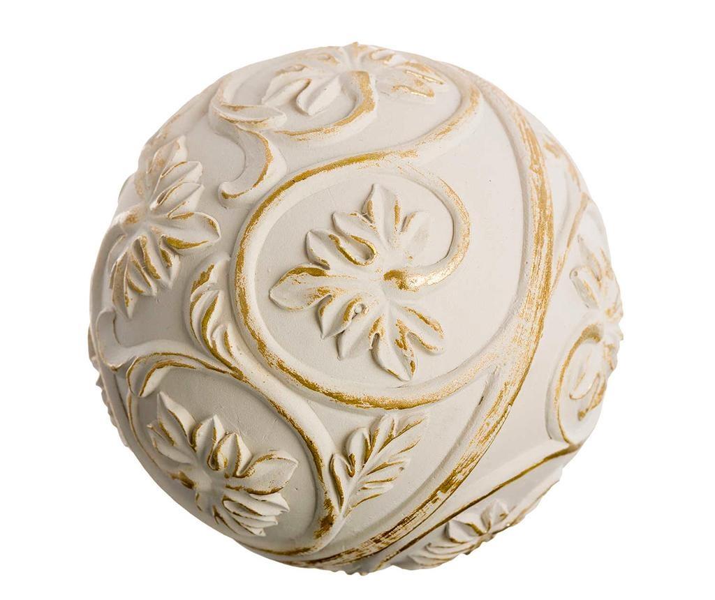 Spheres Cream 8 db Dísztárgy