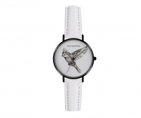 Ceas de mana dama Emily Westwood Wings Classic White