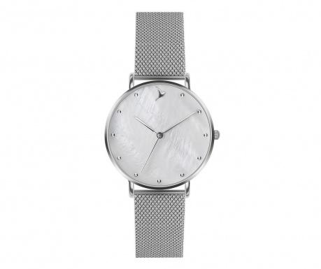 Γυναικείο ρολόι χειρός Emily Westwood Sophie Glam Silver