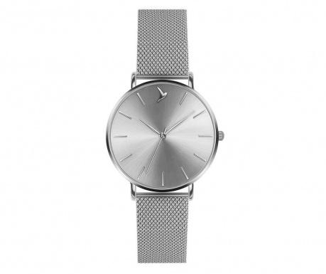 Γυναικείο ρολόι χειρός Emily Westwood Shine Glam Silver