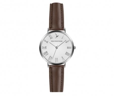 Γυναικείο ρολόι χειρός Emily Westwood Century Classic Brown