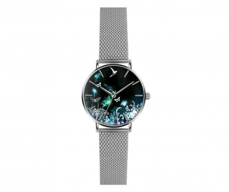 Γυναικείο ρολόι χειρός Emily Westwood Mira Silver