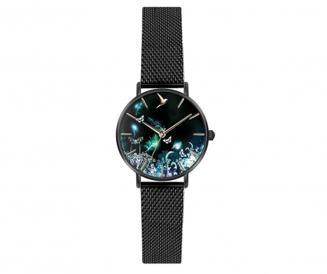 Γυναικείο ρολόι χειρός Emily Westwood Mira Matt Black