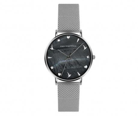 Γυναικείο ρολόι χειρός Emily Westwood Lotus Silver