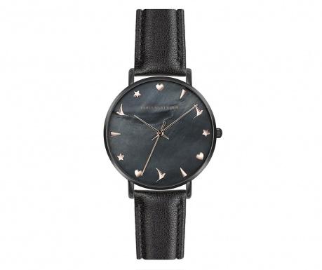 Γυναικείο ρολόι χειρός Emily Westwood Emilia  Black