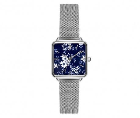 Γυναικείο ρολόι χειρός Emily Westwood Square Silver