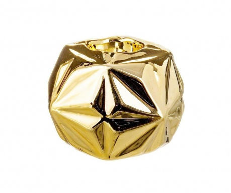 Świecznik Origami Gold