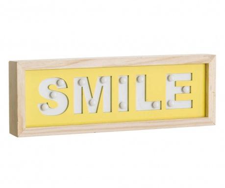 Nástěnná světelná dekorace Smile
