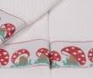 Set 6 prosoape de baie Border Mushroom 30x50 cm