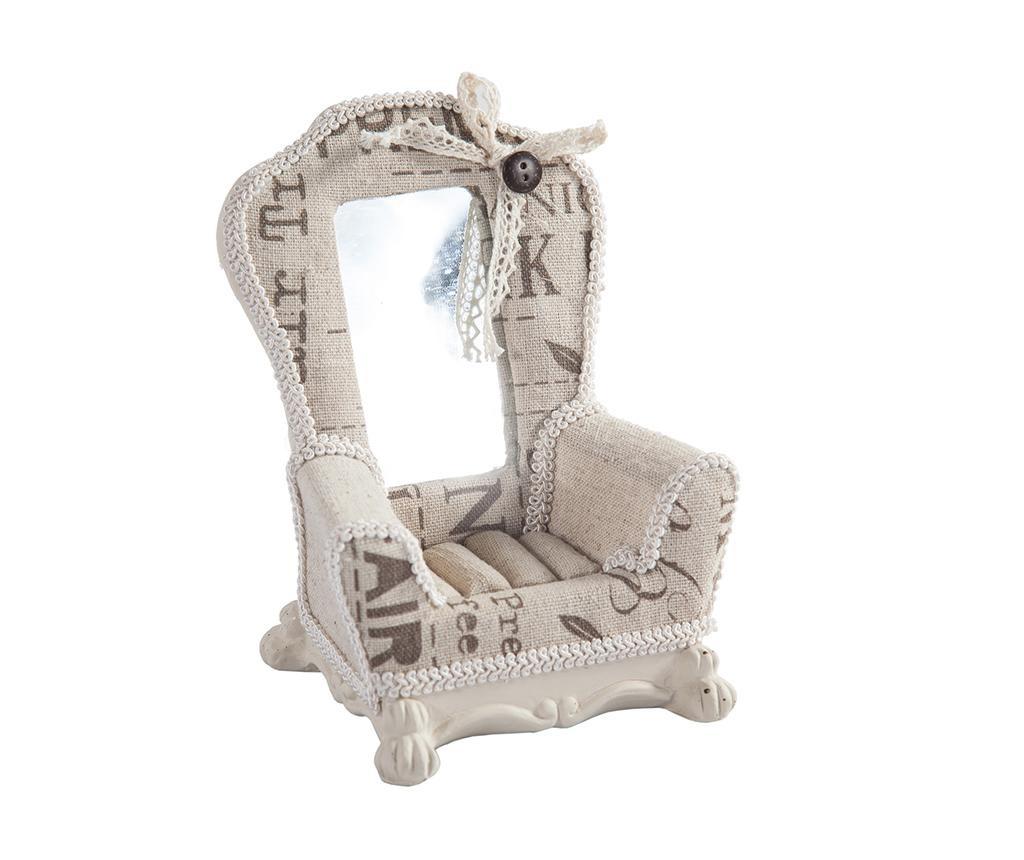 Suport pentru inele Beige Chair