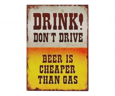 Dekoracja ścienna Beer Gas