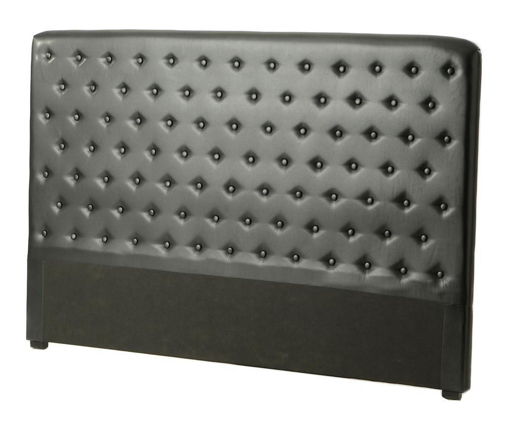 Uzglavlje kreveta Alec Noir 180 cm