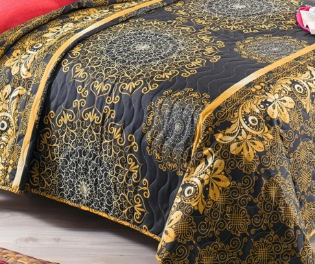 Cuvertura matlasata Sehriala  Gold 200x250 cm
