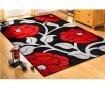 Tepih Vine Black & Red 80x150 cm