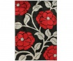 Tepih Vine Black & Red 120x170 cm