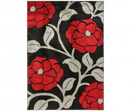 Tepih Vine Black & Red 160x230 cm
