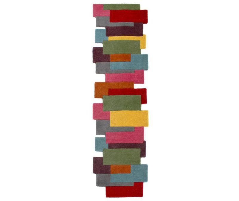 Tepih Collage Multi 60x230 cm
