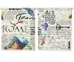 Set 2 rolo zaves Rome 100x200 cm