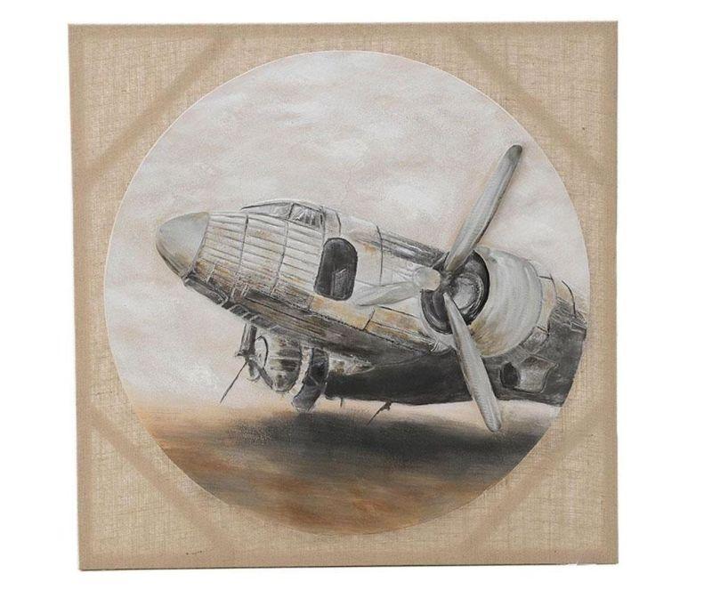 Obraz Airplane 80x80 cm