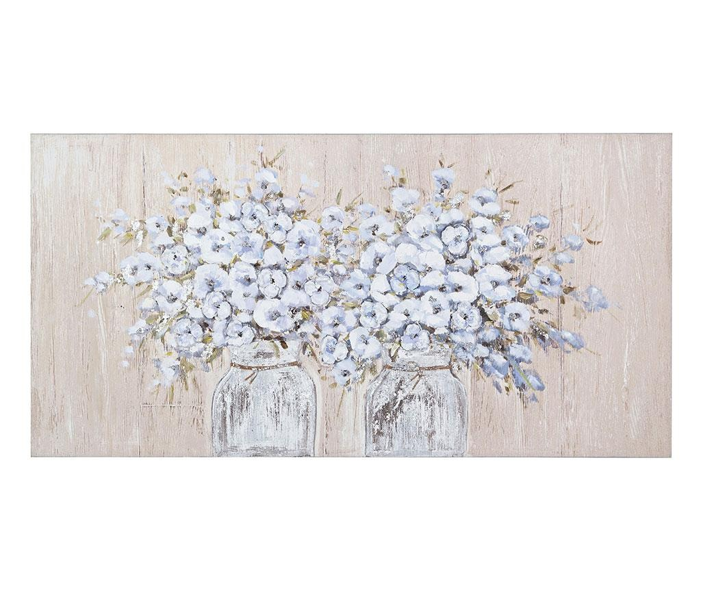 Village Flowers Festmény 60x120 cm