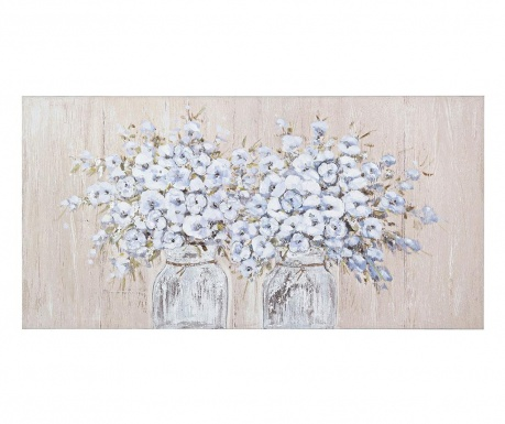 Obraz Village Flowers 60x120 cm