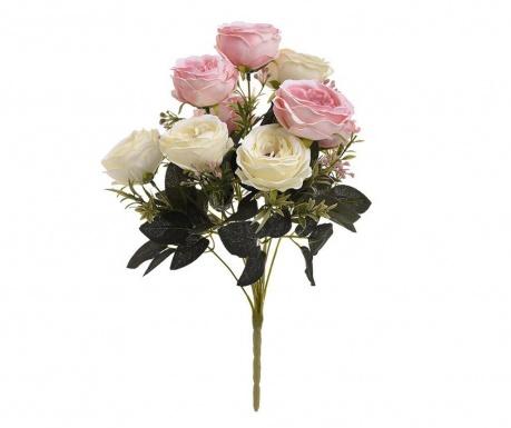 Šopek iz umetnega cvetja Pastel Roses