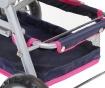 Twingo Blue Pink Játék babakocsi
