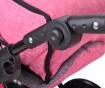 Ruby Pink Játék babakocsi