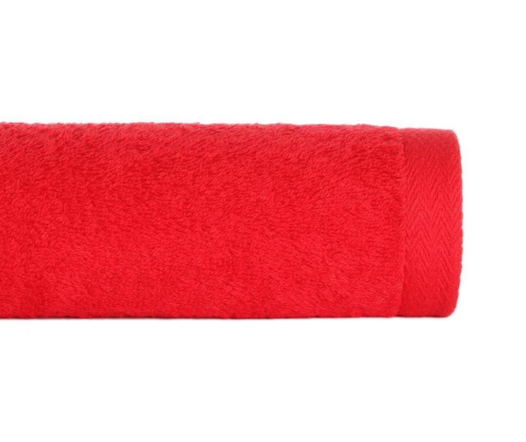 Prosop de baie Alfa Red 100x150 cm
