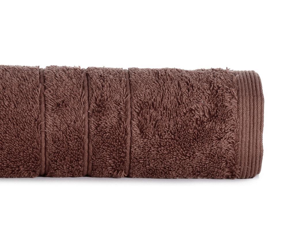Prosop de baie Omega Chocolate 30x50 cm