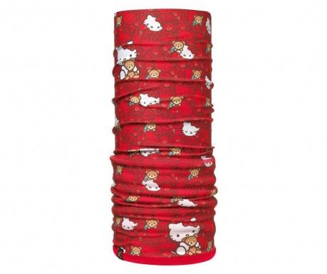Fular circular unisex Buff Hello Kitty Hugs 24.5x77 cm