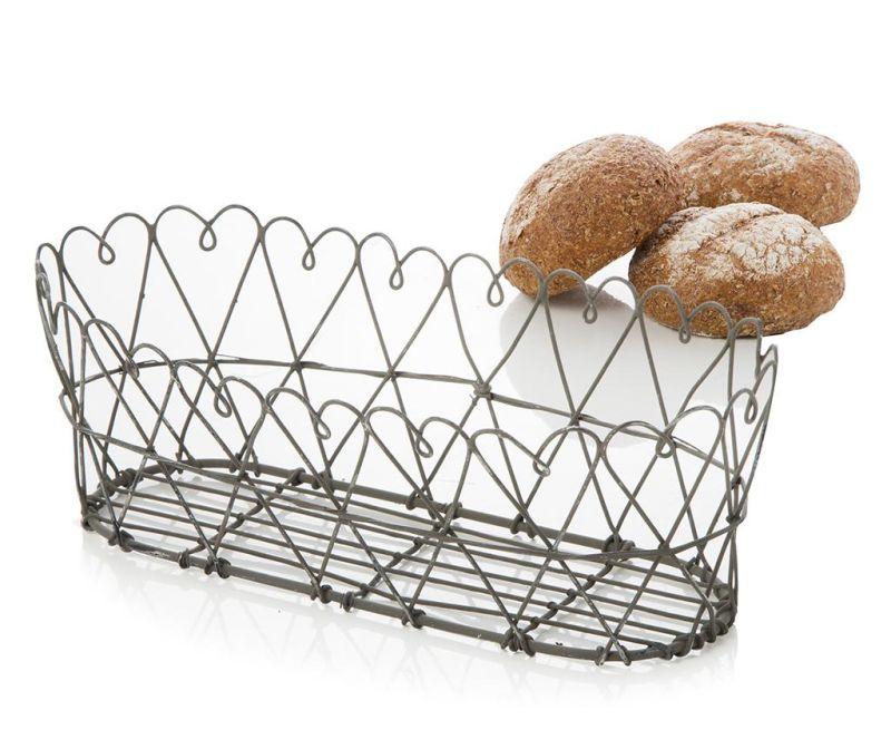 Košarica za kruh Cecile Black