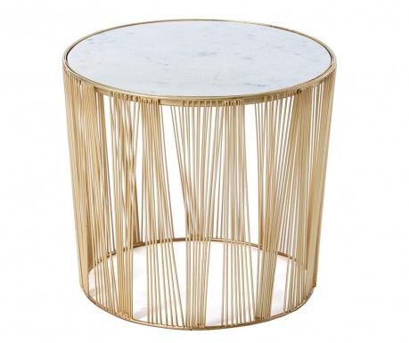 Stripes Golden Asztalka