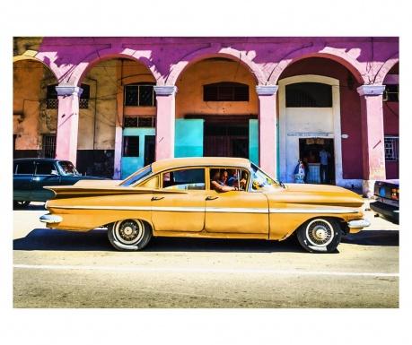Obraz Yellow Car 60x90 cm