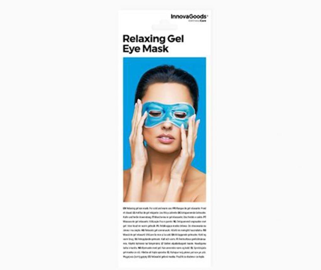 Masca relaxanta pentru ochi InnovaGoods Blue