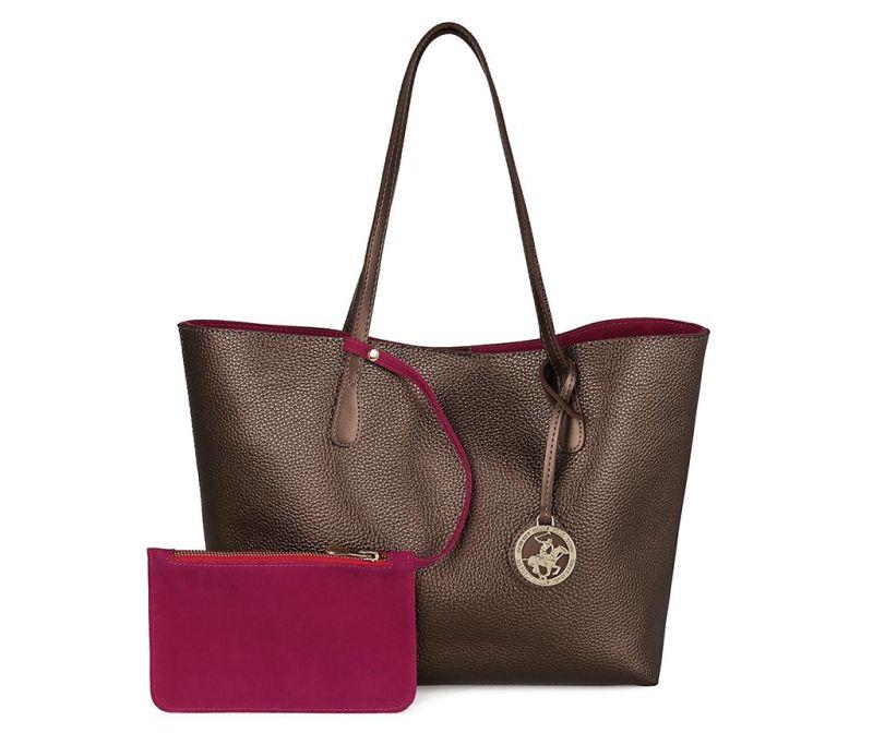 Дамска чанта Vanessa Copper Fuchsia