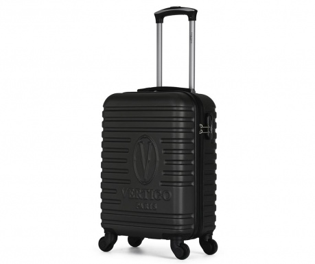 Montreal Dark Grey Gurulós bőrönd 35 L