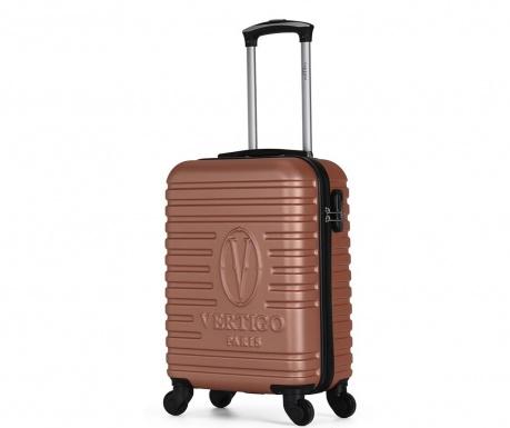 Montreal Golden Pink Gurulós bőrönd 35 L