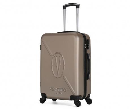 Karachi Gold Gurulós bőrönd 89 L