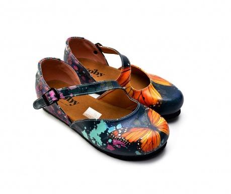 Ženski zaprti sandali Butterfly 38
