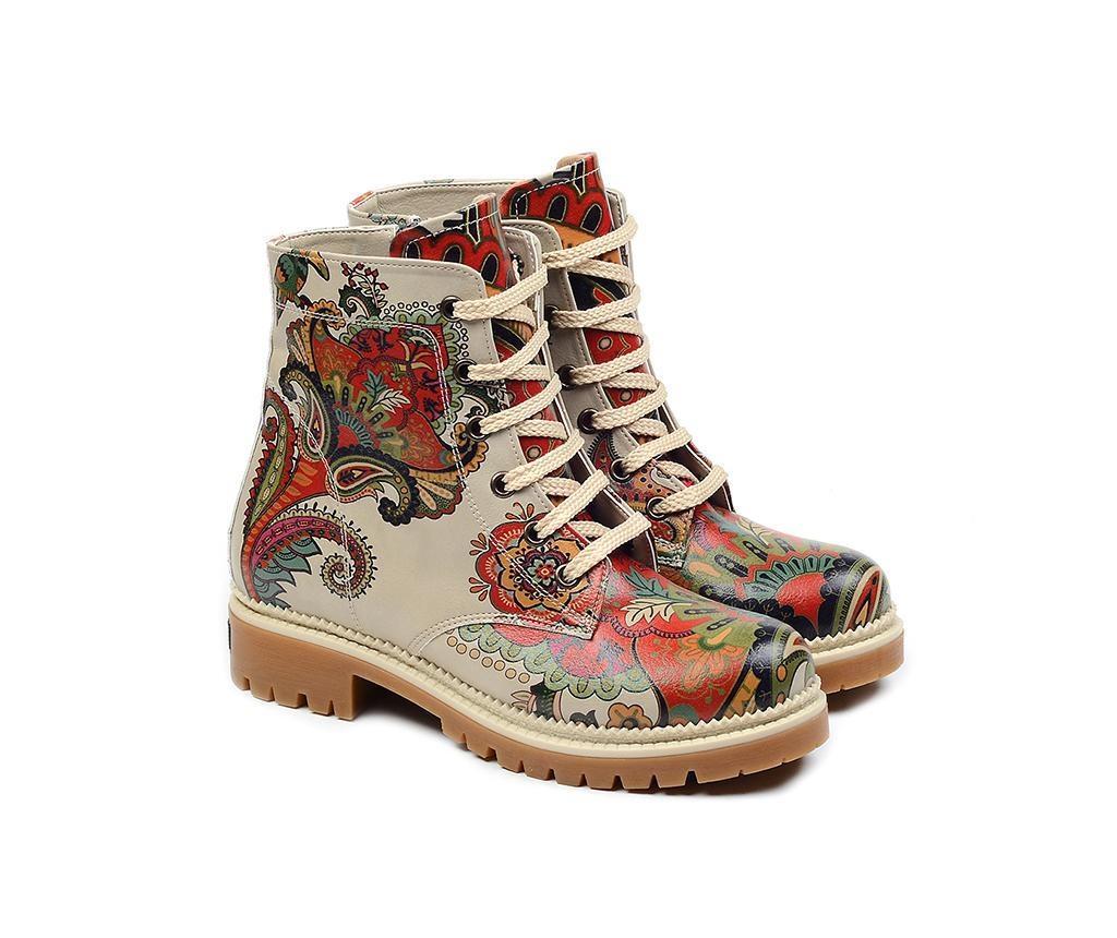 Dámské kotníkové boty Flowers Of Life 39