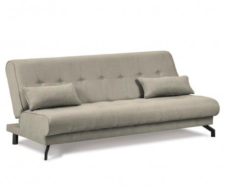Sofa extensibila 3 locuri Musique Grey Mole