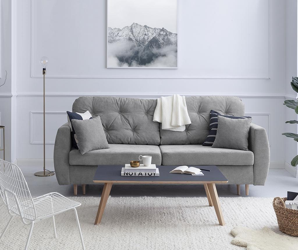 Kauč trosjed na razvlačenje Orchid Grey