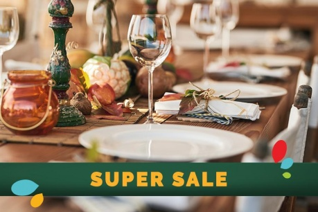 SUPER SALE: Τραπεζαρία και κουζίνα