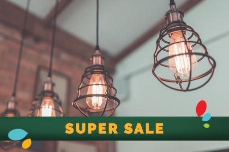 SUPER SALE: Φωτιστικά