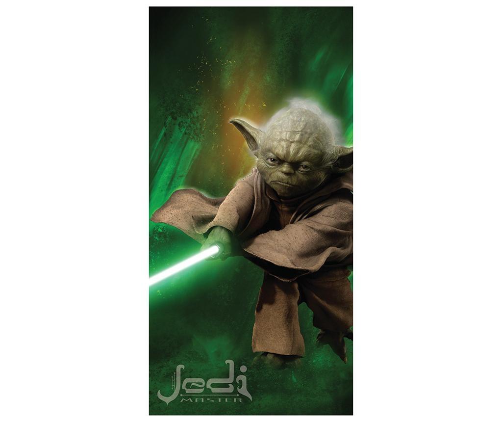 Prosop de plaja Star Wars Yoda 70x140 cm