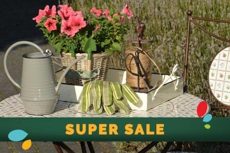 SUPER SALE: Κήπος και εξωτερικό