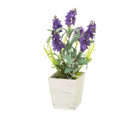 Umjetna biljka u posudi Lavander Purple